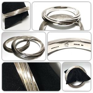 Patricia Von Musulin Etched Sterling 925 Bracelets
